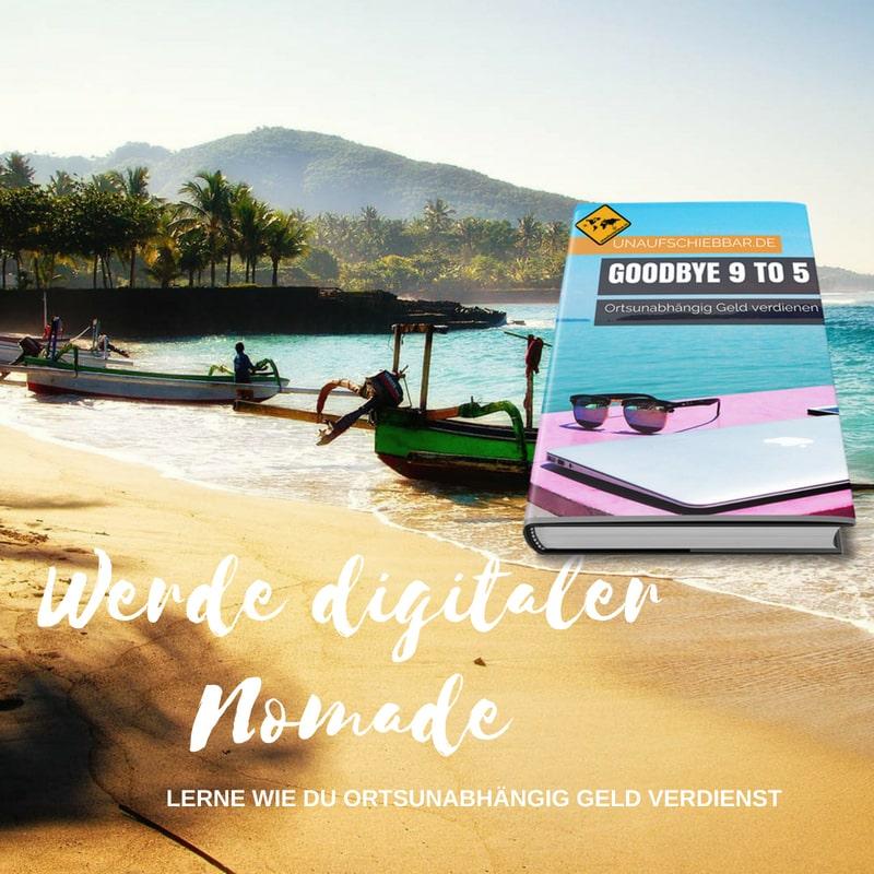 Instagram - Werde digitaler Nomade - ortsunabhängig Geld verdienen