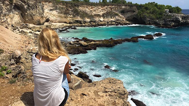 Interessante Orte auf Bali Blue Lagoon Nusa Ceningan