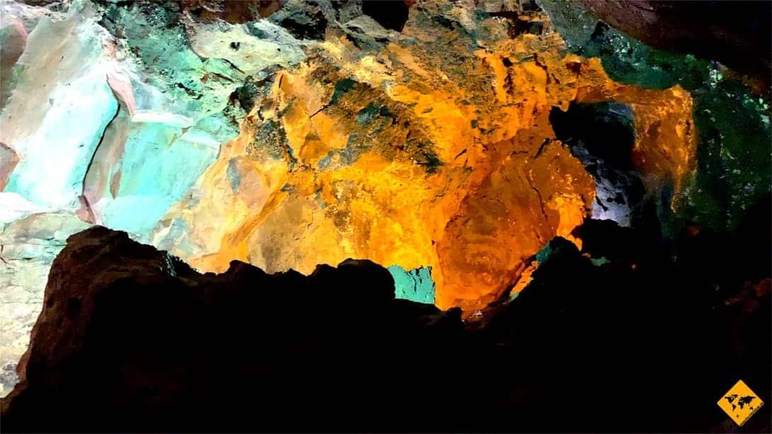 Interessante Orte auf Lanzarote Cueva de los Verdes