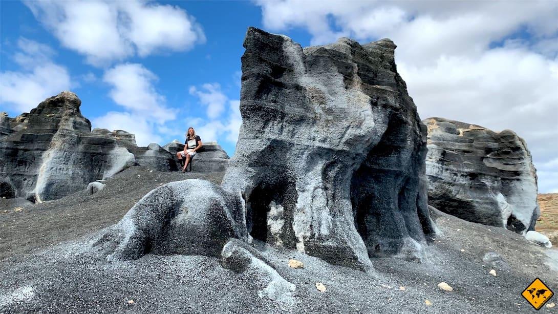 Interessante Orte auf Lanzarote Gesteinsformationen