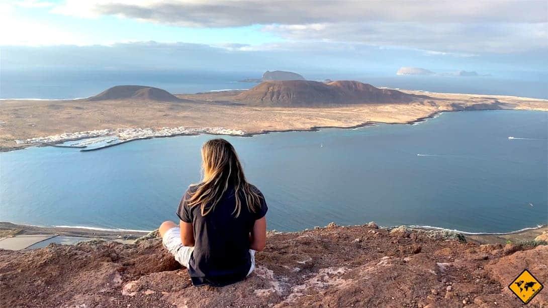 Interessante Orte auf Lanzarote Mirador del Río