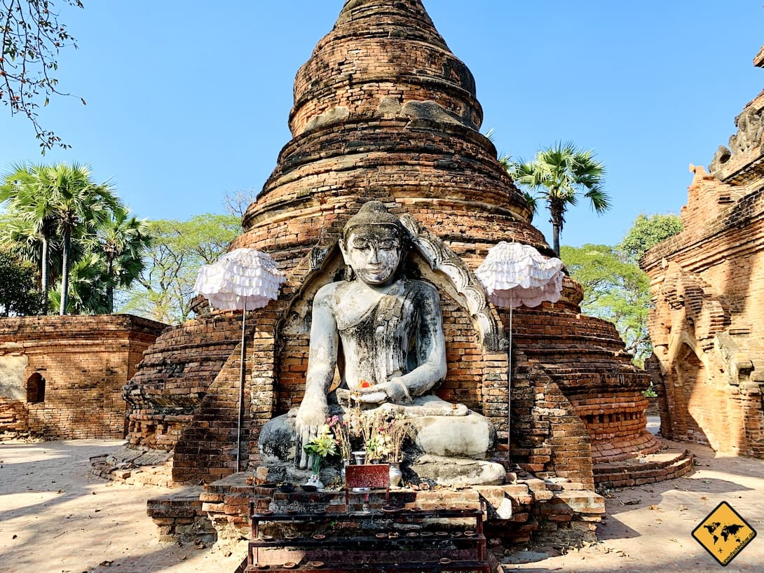 Inwa alte Pagode in Myanmar