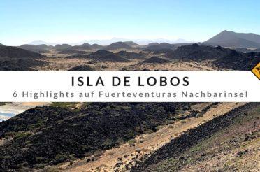 Isla de Lobos – 6 Highlights, die dich auf Fuerteventuras Nachbarinsel erwarten