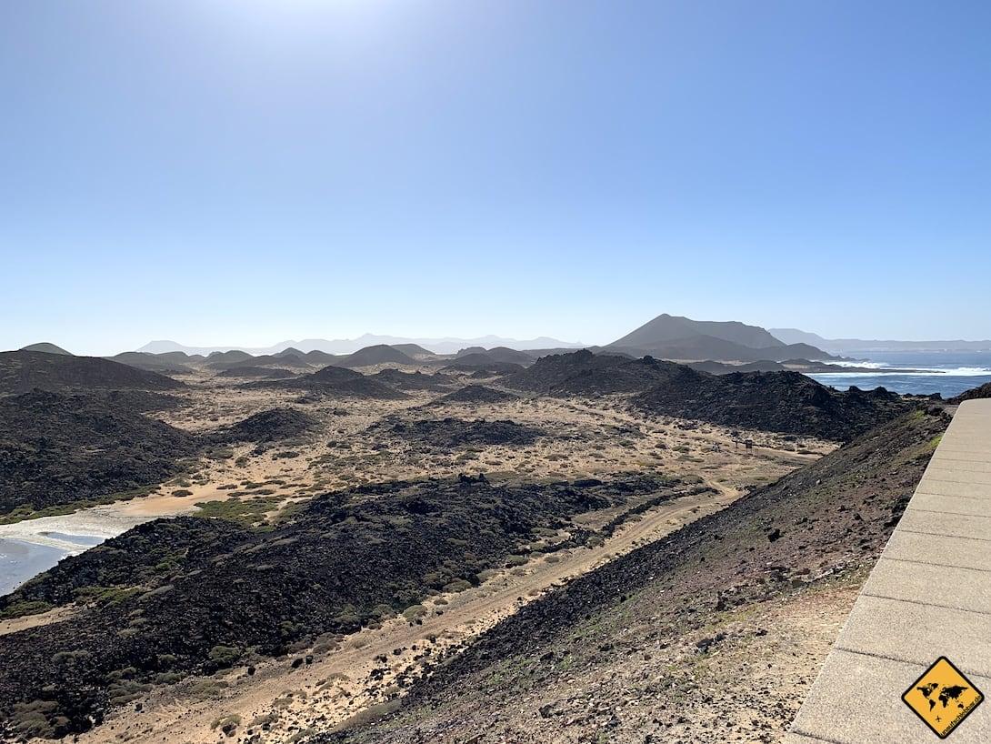 Isla de Lobos Ausblick Leuchtturm