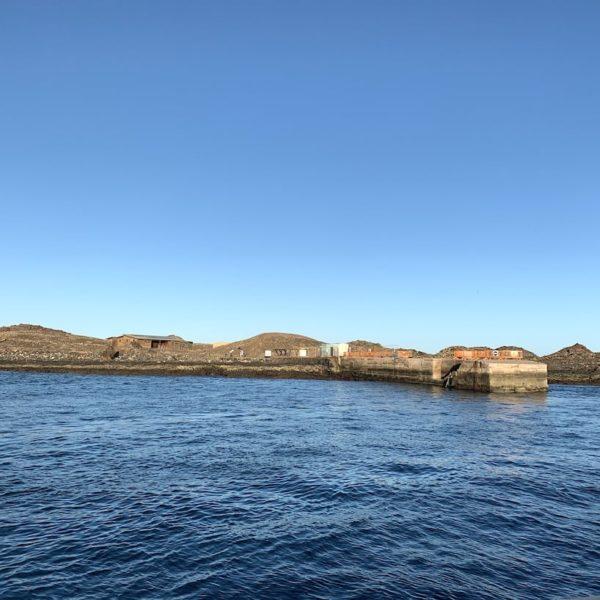 Isla de Lobos Bootsanlegestelle