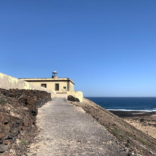 Isla de Lobos Faro de Martiño