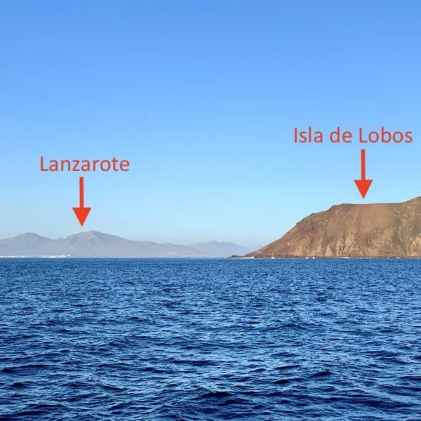 Isla de Lobos vom Meer