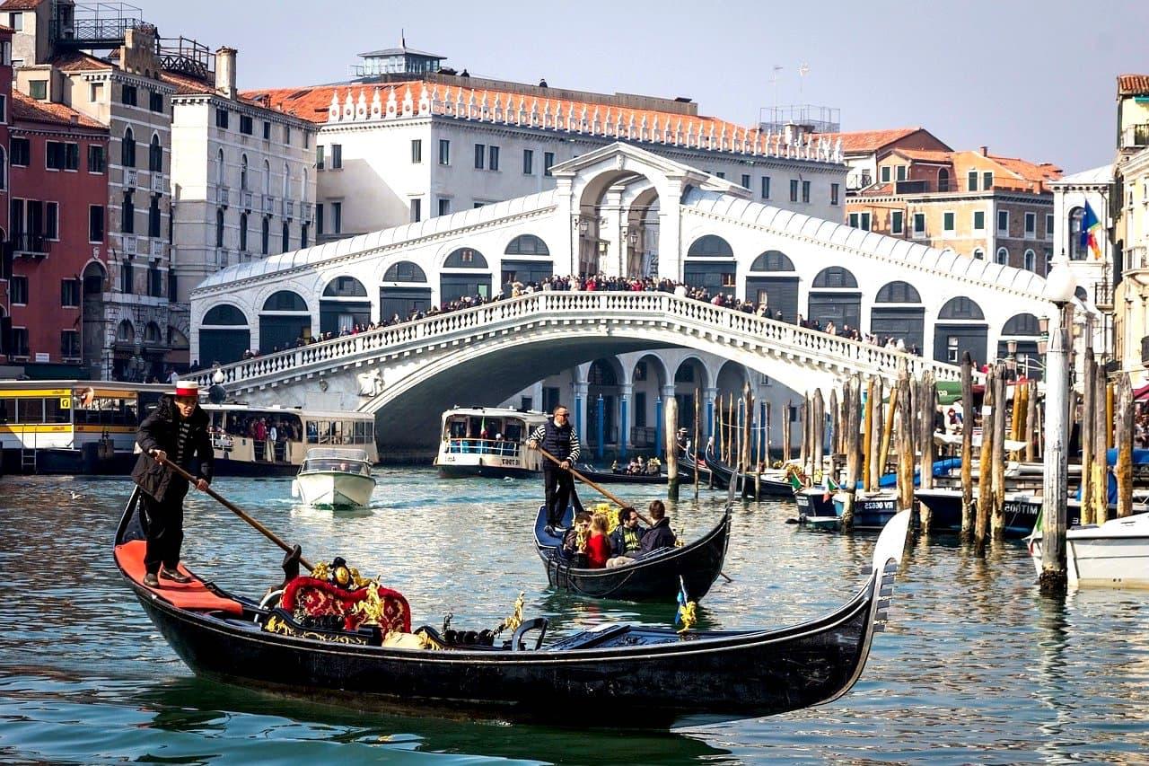 Italien Venedig Rialto