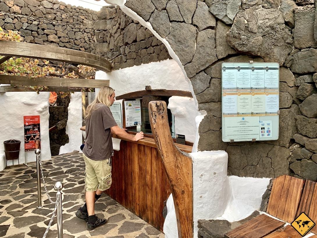 Jameos del Agua Lanzarote Eingang