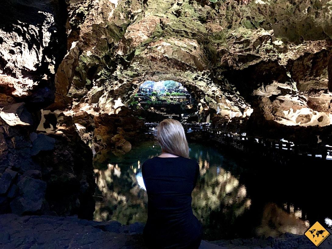 Jameos del Agua Lanzarote Lavatunnel