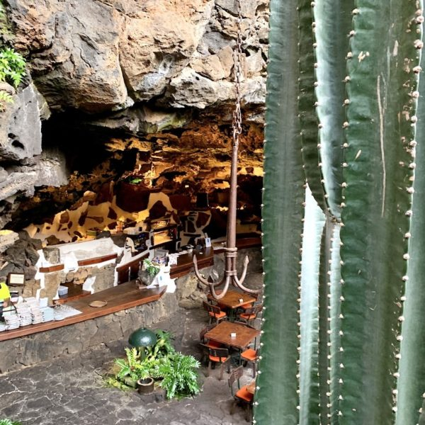Jameos del Agua Restaurant Eingangsbereich