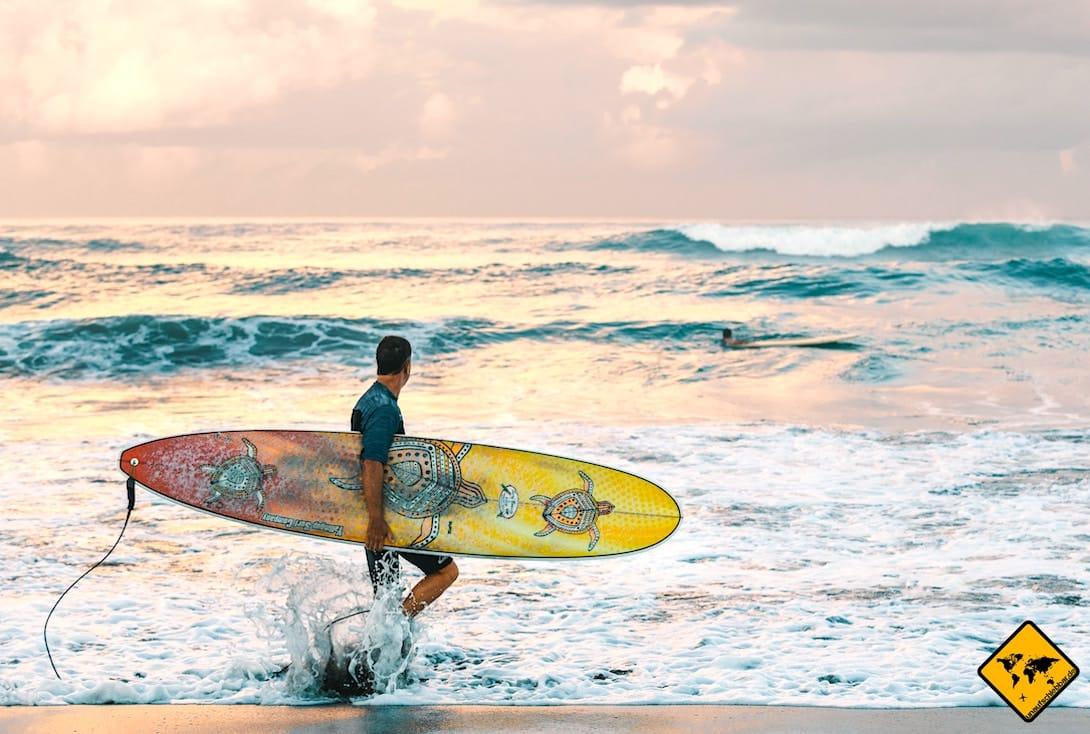 Jimbaran surfen