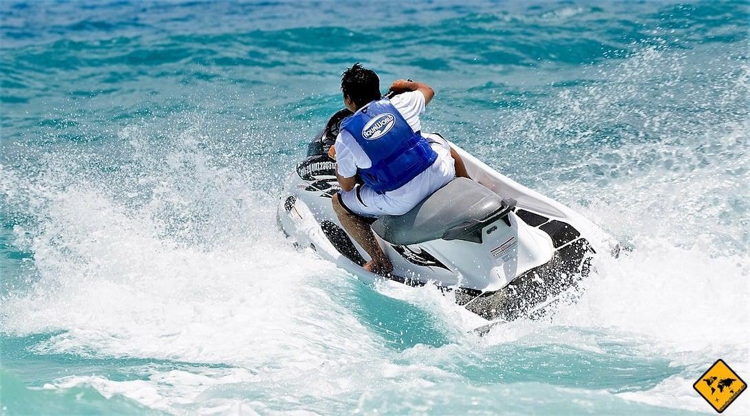 Jumeirah Beach Dubai Jetski fahren