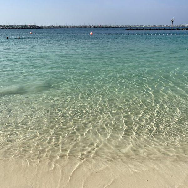 Jumeirah Beach Dubai Meer türkis-blau