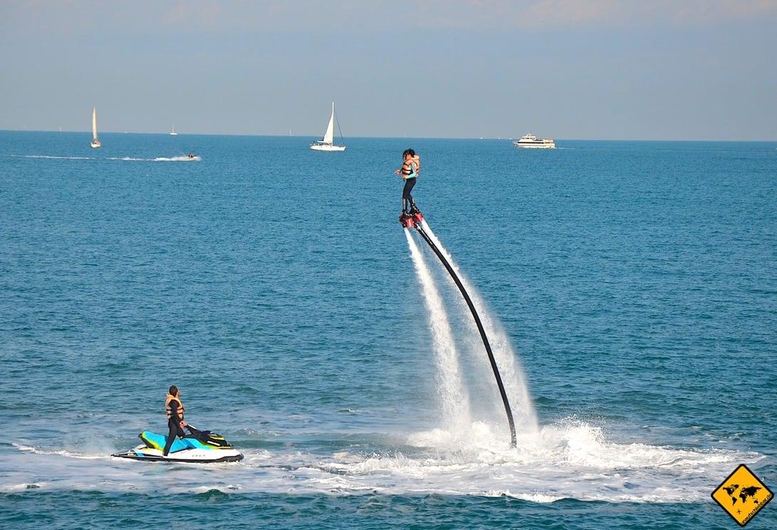 Jumeirah Public Beach Dubai Flyboard