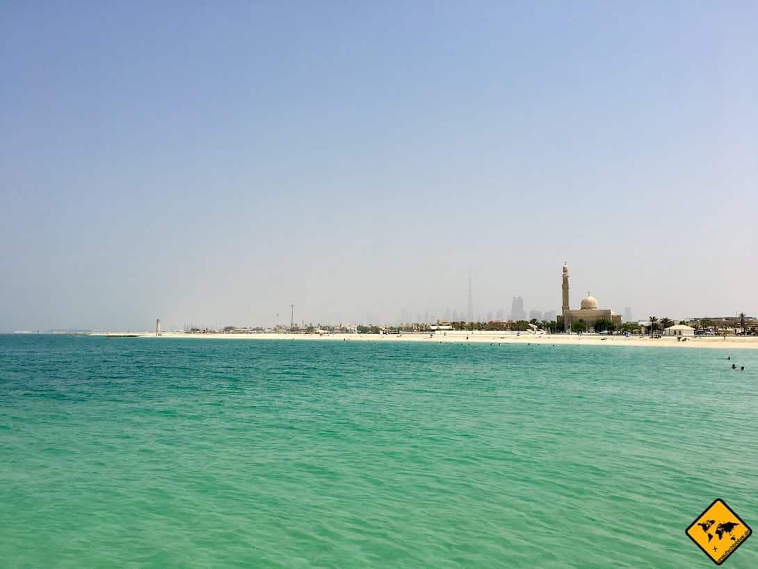 Jumeirah Public Beach Meer