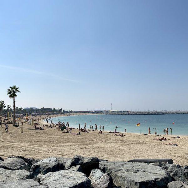 Jumeirah Public Beach Sand