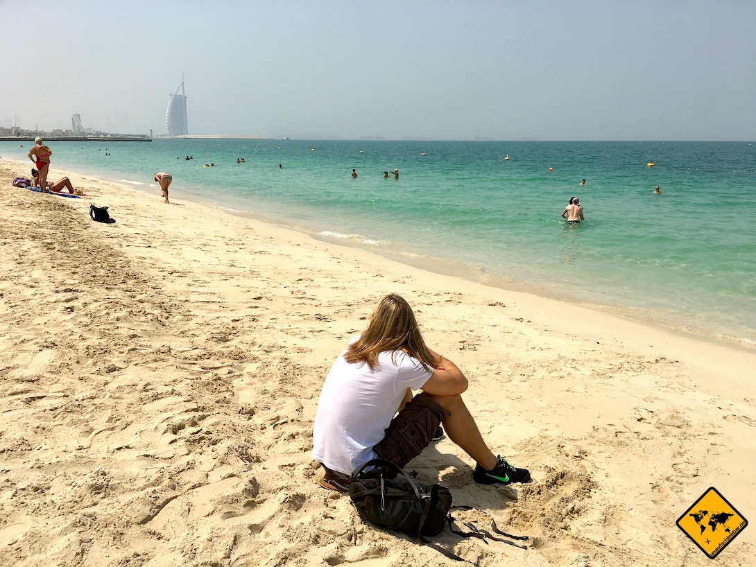 Jumeirah Public Beach Sand Meer