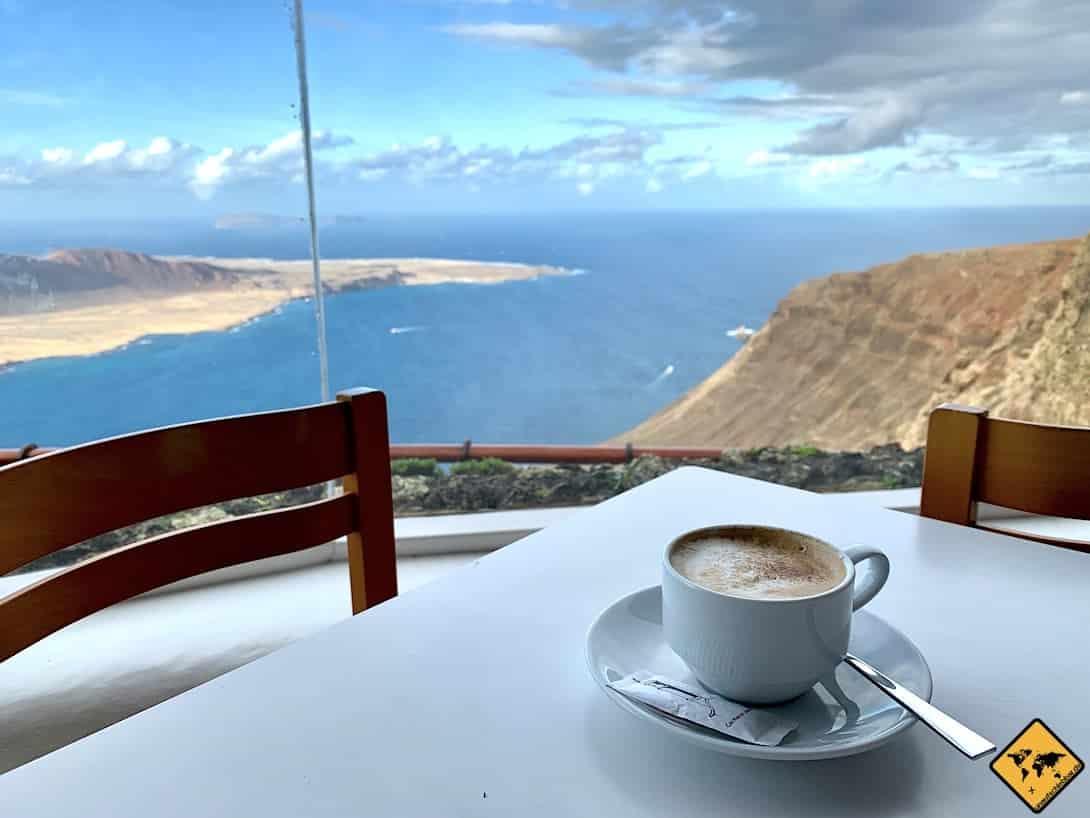Kaffee Meerblick Lanzarote