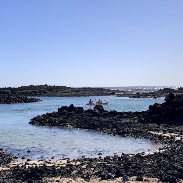 Kajak fahren Isla de Lobos