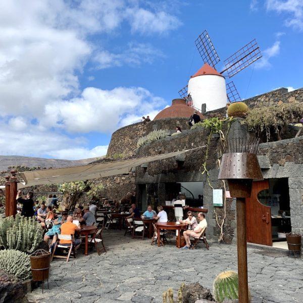 Kakteengarten Lanzarote Caféteria