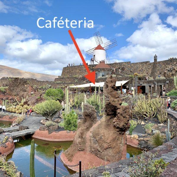 Kaktusgarten Caféteria Lanzarote