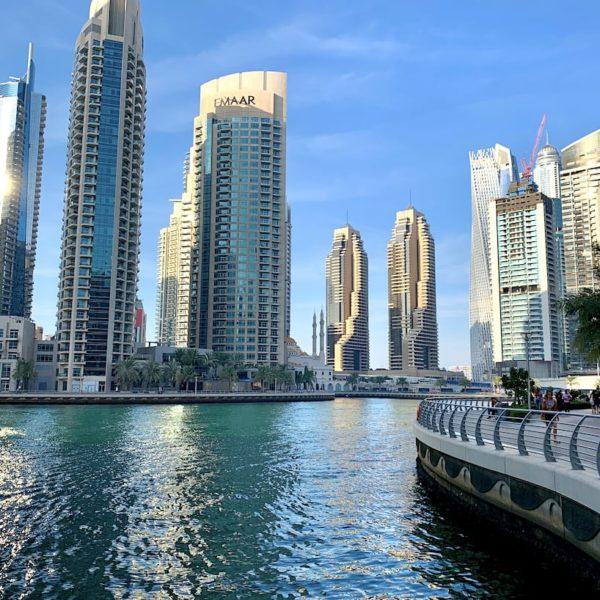 Kanal Promenade Skyline Dubai Marina