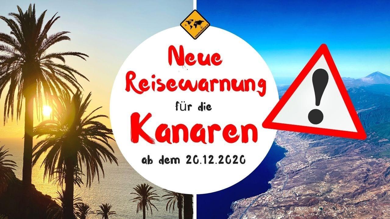 Kanaren Corona Reisewarnung Dezember 2020