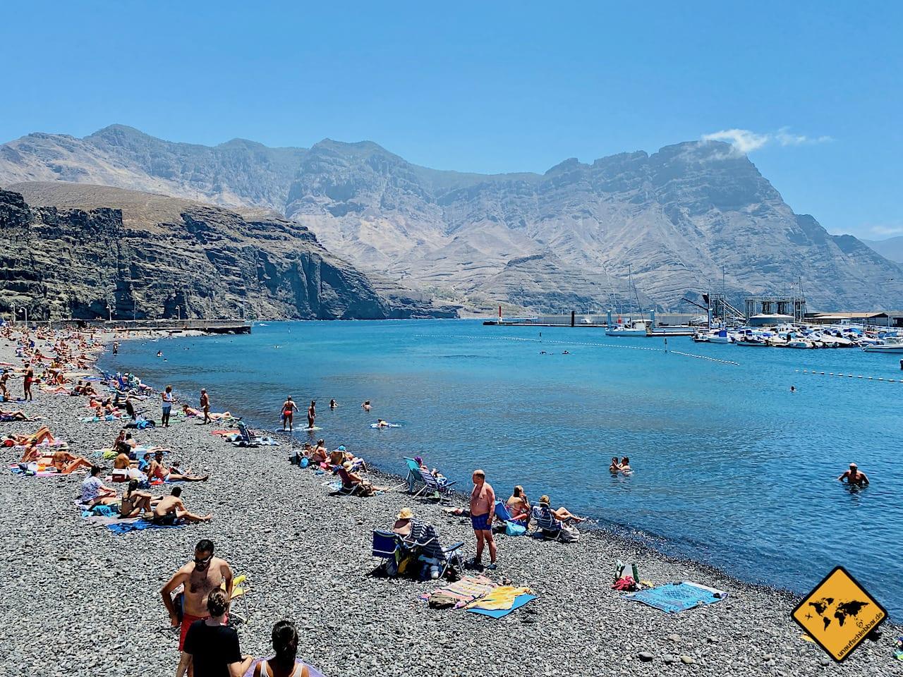 Kanaren Corona Zeit Strand Agaete Gran Canaria