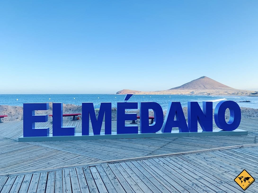 Kanaren El Médano Teneriffa Kitesurfen