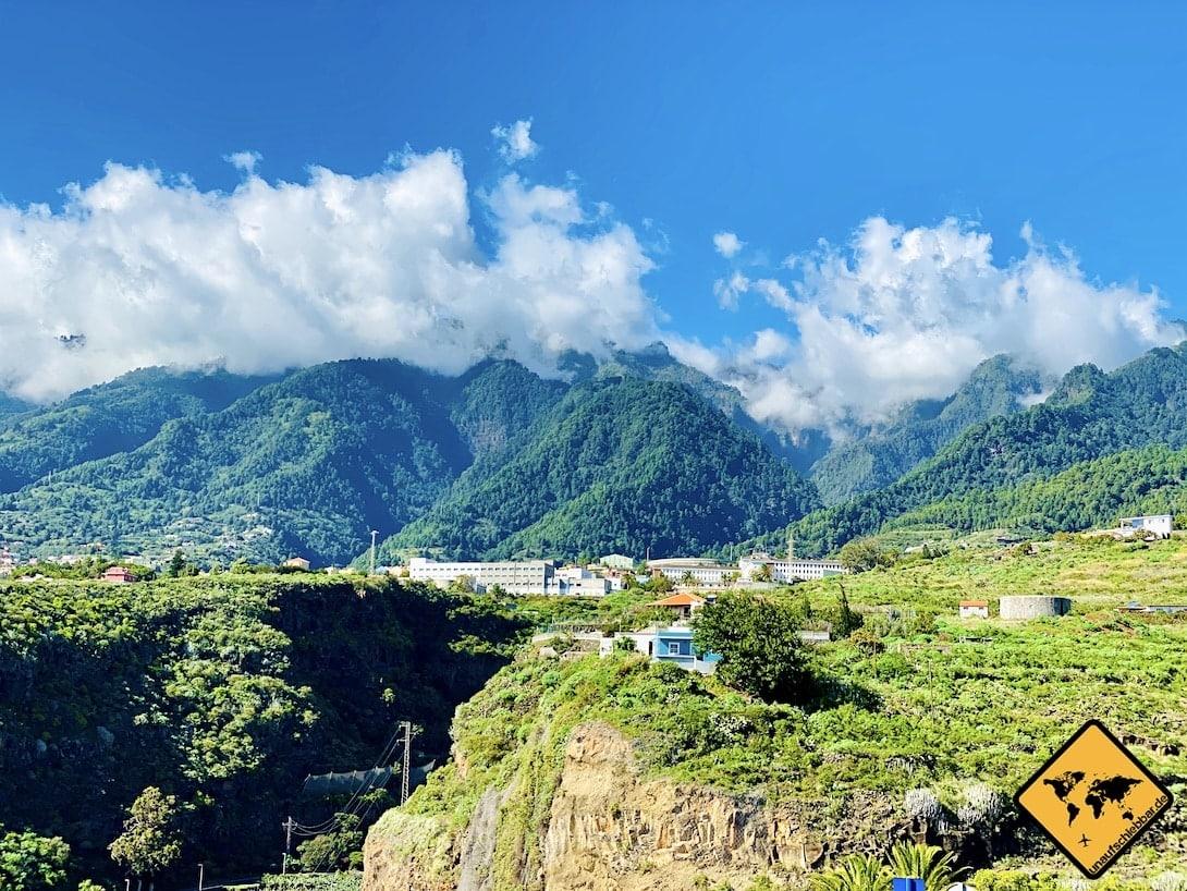 Kanaren La Palma Wolken