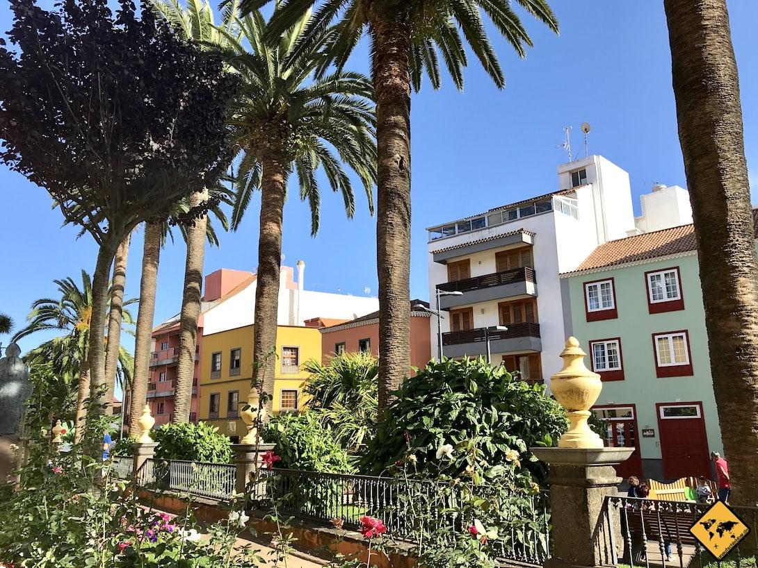 Kanaren Teneriffa Altstadt La Laguna