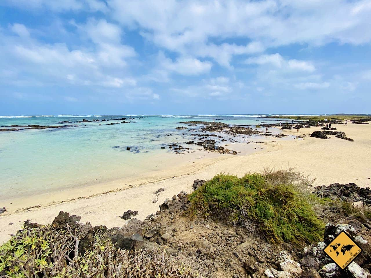 Kanaren welche Insel Strand Caleton Blanco Lanzarote