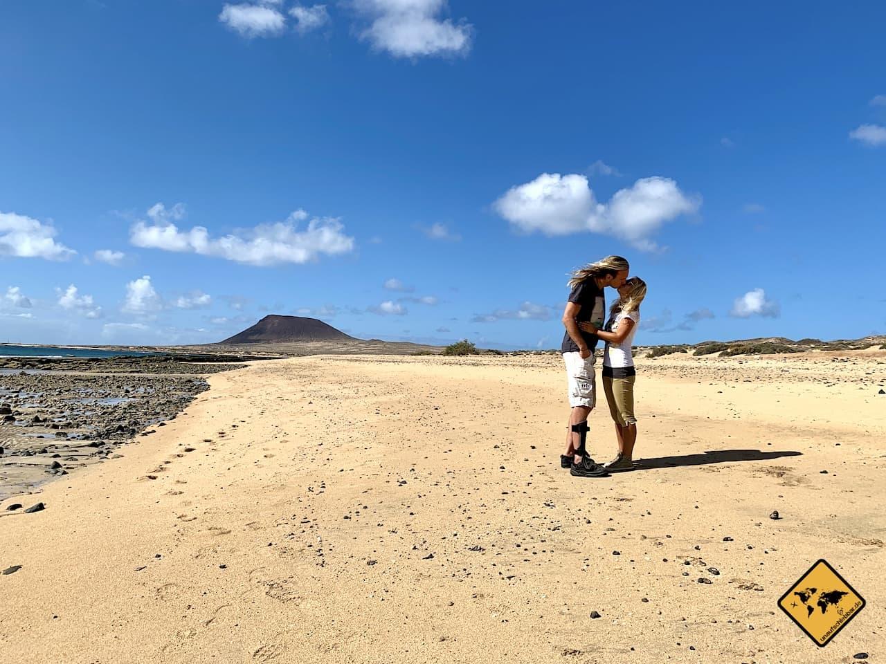 Kanarische Insel La Graciosa Strand