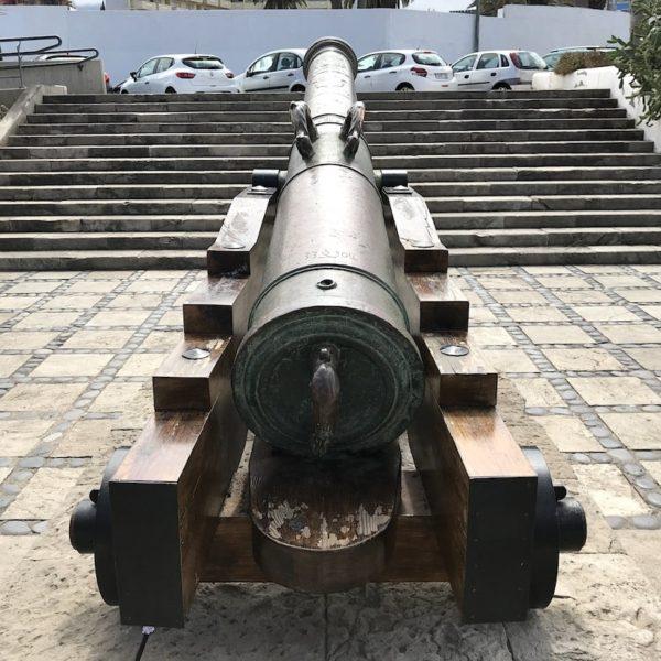 Kanone Puerto de la Cruz Teneriffa Castillo de San Felipe