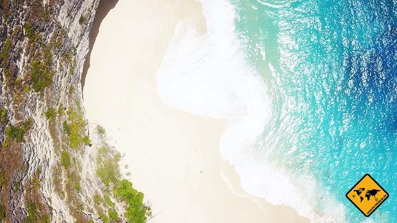 Kelingking Beach Bali Strand