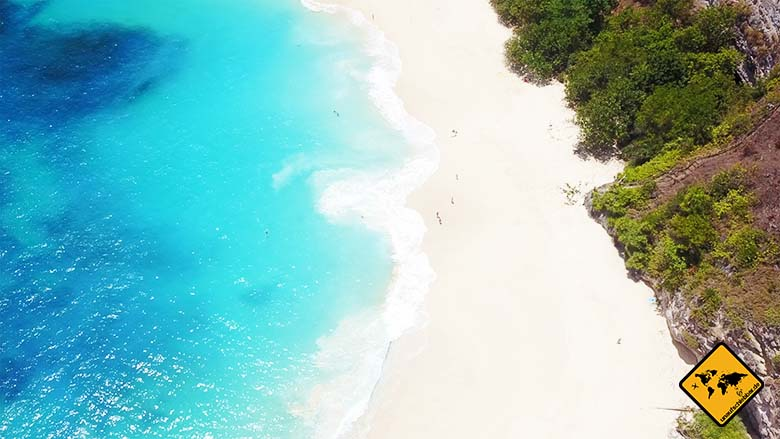 Kelingking Beach Bali Traumstrand