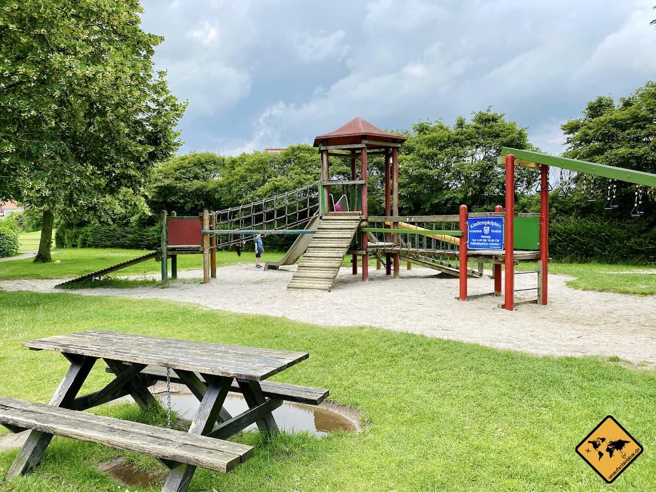 Kinderspielplatz Haustierpark Werdum