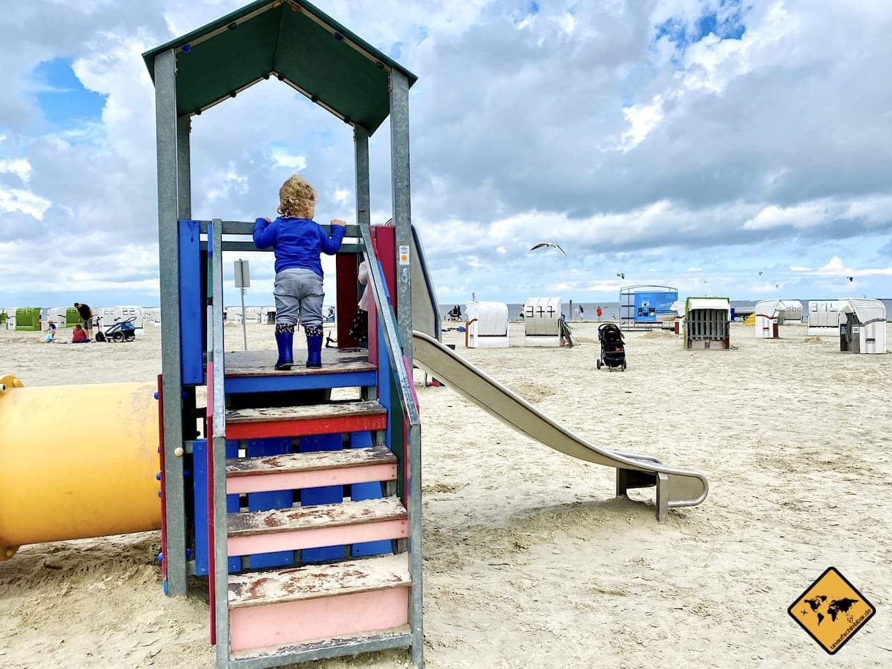 Kinderspielplatz Norddeich Strand