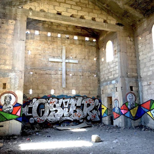Kirche Abades Geisterstadt innen