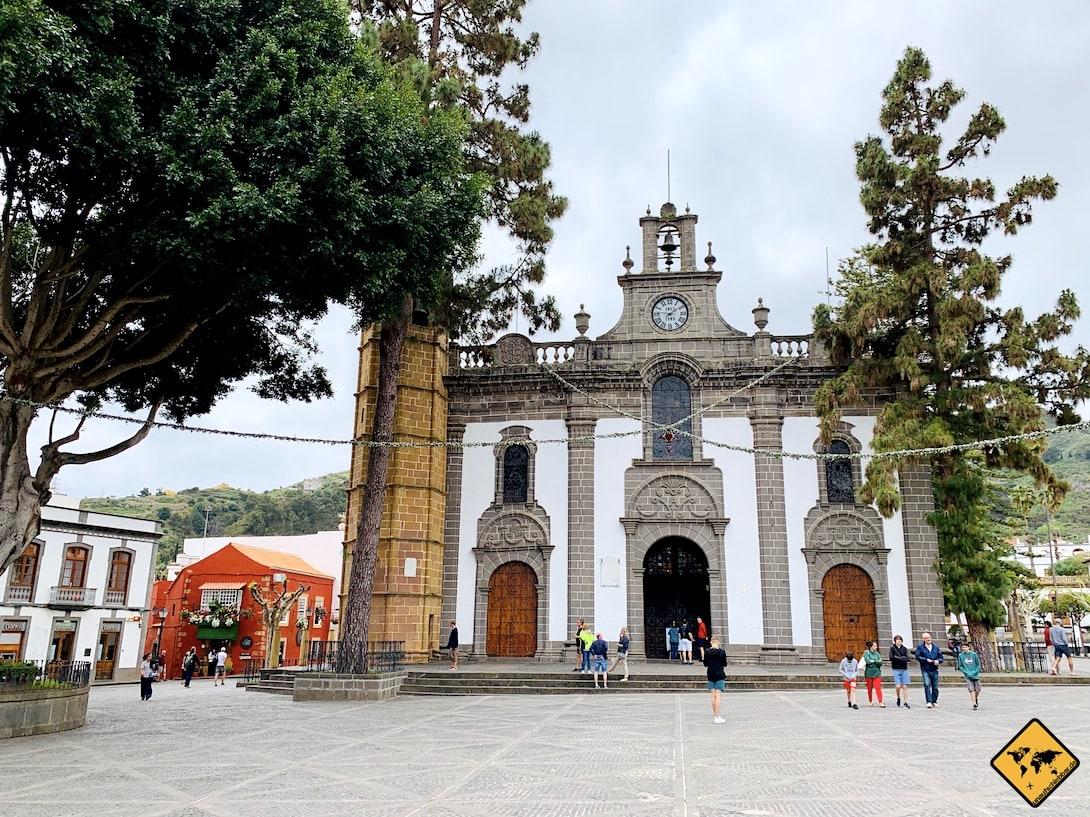 Kirche Marktplatz Teror Gran Canaria