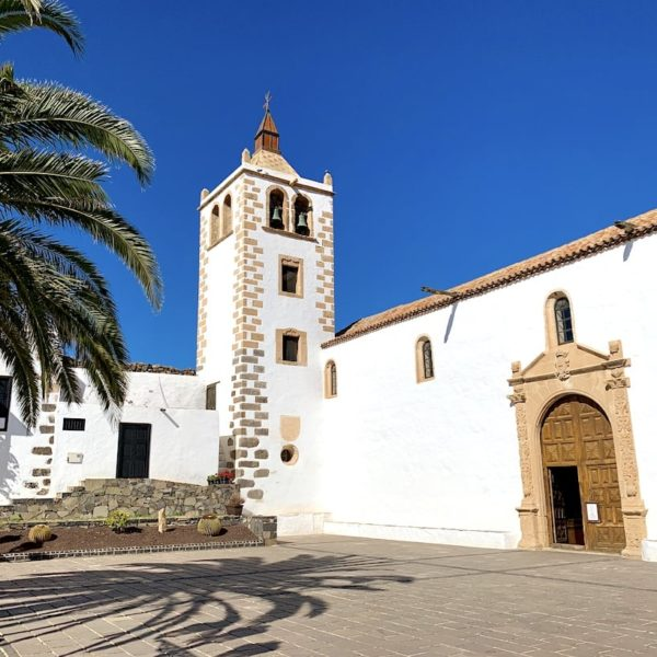 Kirche Vorplatz Betancuria