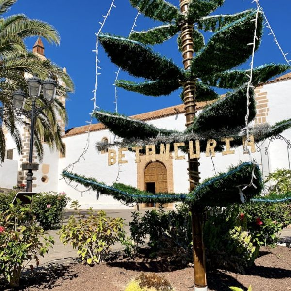 Kirchplatz Fuerteventura Betancuria