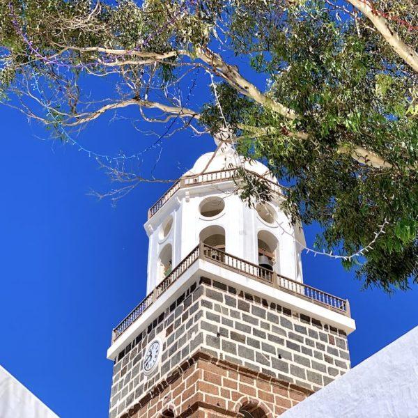 Kirchturm Nuestra Señora de Guadalupe Teguise Lanzarote