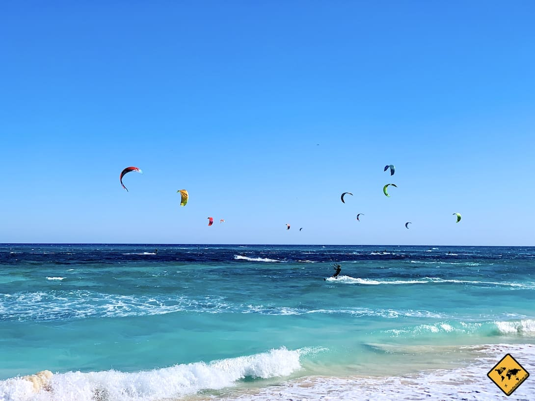Kitesurfen Fuerteventura Flag Beach Corralejo