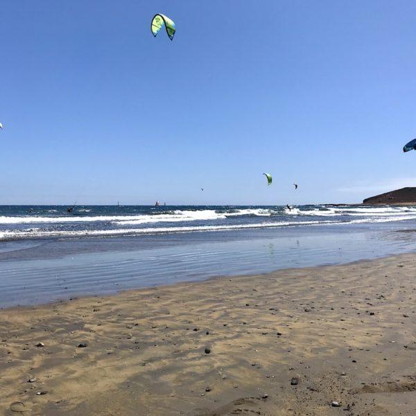 Kitesurfen auf Teneriffa El Médano