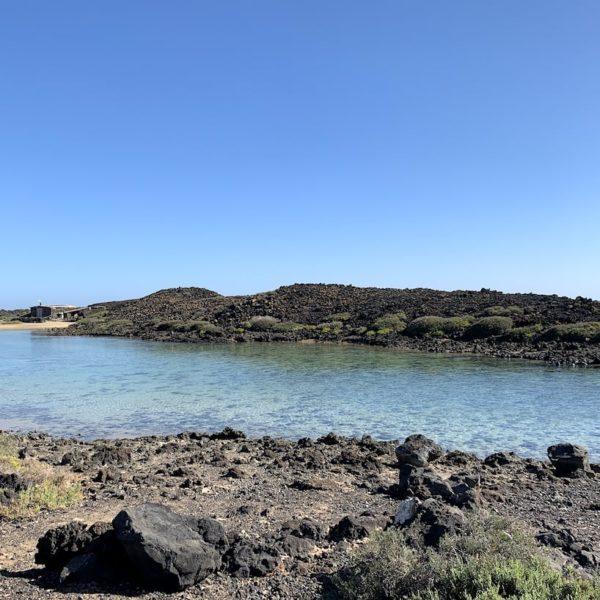 Klares Wasser Isla de Lobos