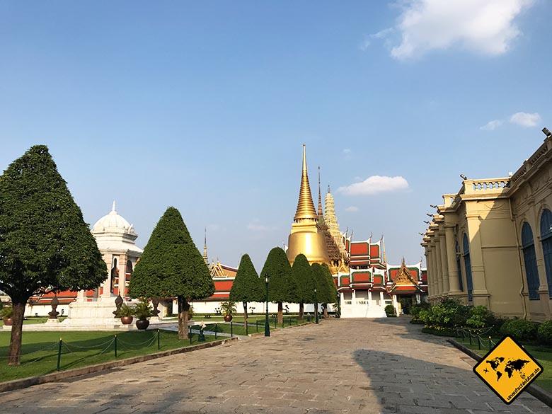 Königspalast Bangkok Außenhof