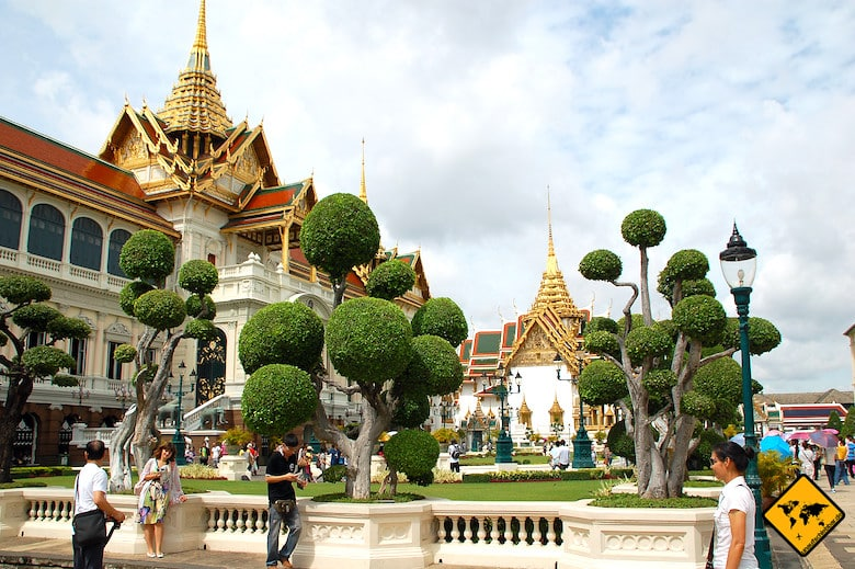 Königspalast Bangkok Rundreise