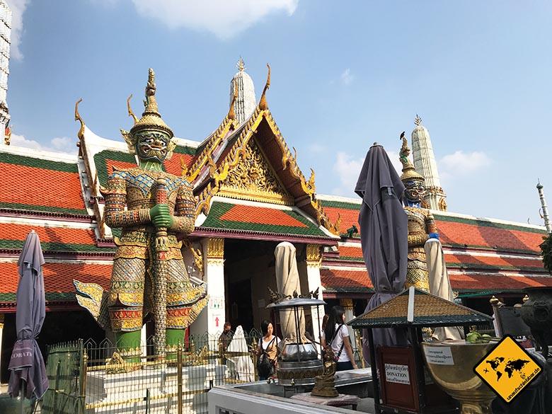 Königspalast Bangkok Tempelwächter